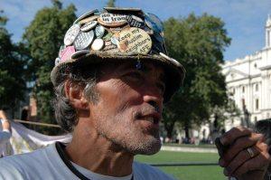 Peace protester Brian Haw